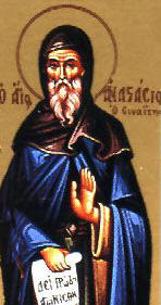 img ST. ANASTASIUS the Sinaite