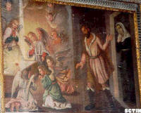 pintura: milagro Eucarístico